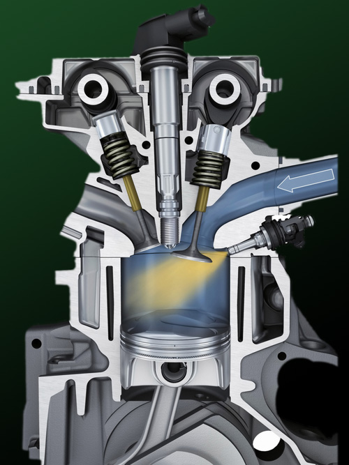 Diagram Direct Injection System Conversion